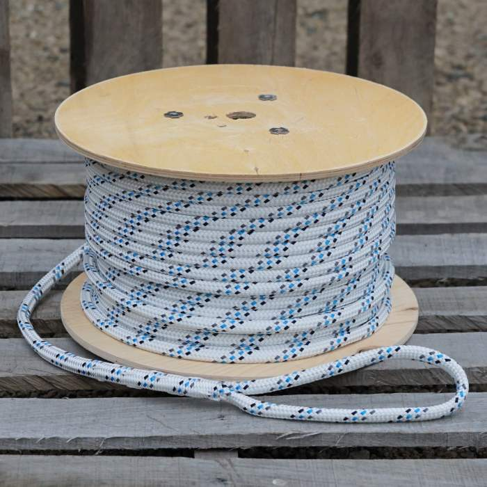 """Pulling Rope Construction Electrical Heavy Duty Low Stretch Polyester 1//2/"""" 300/'"""