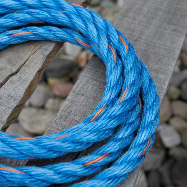 High-Tenacity Blue Poly
