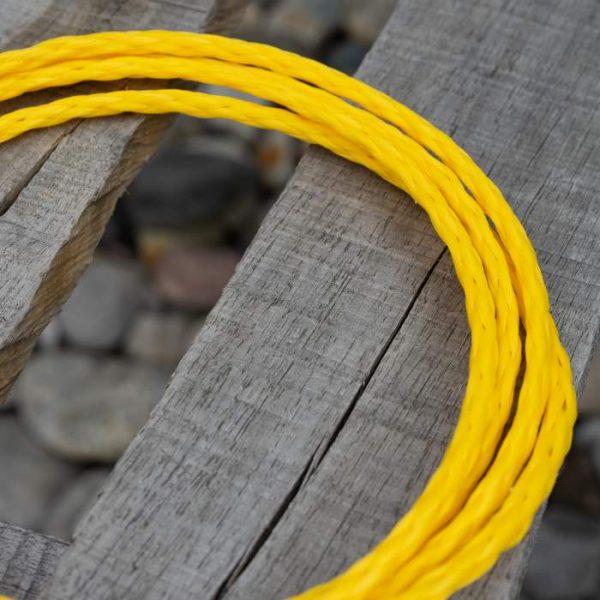 Hollow Braid Yellow