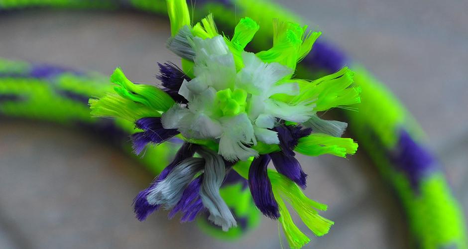 Mardi Gras Neon Green / Purple / Grey (GPG)