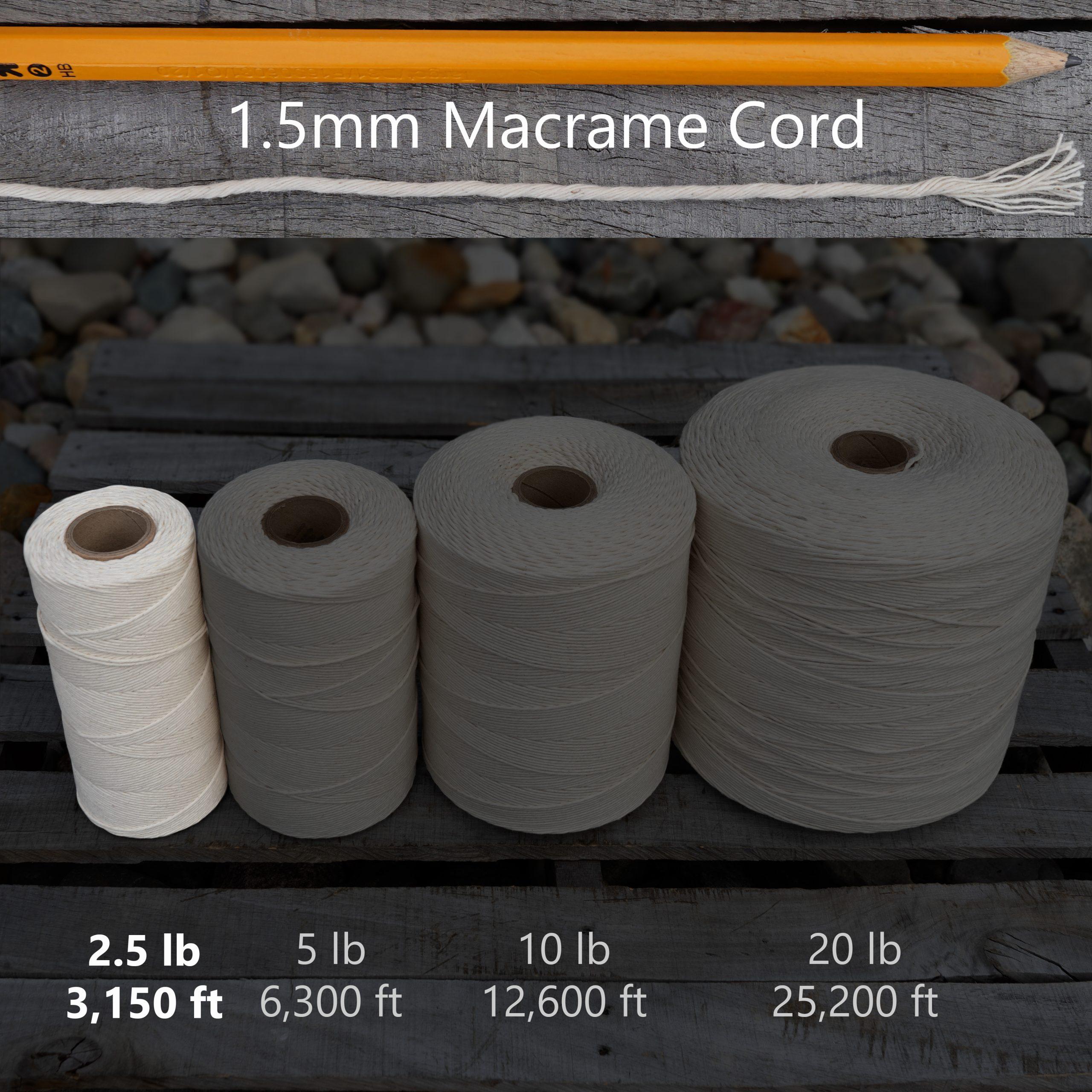 1.5 mm x 2.5 lb