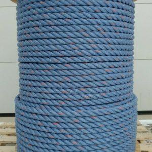 Arctic Blue Snow Ski Tow Rope (1 1/8 inch)